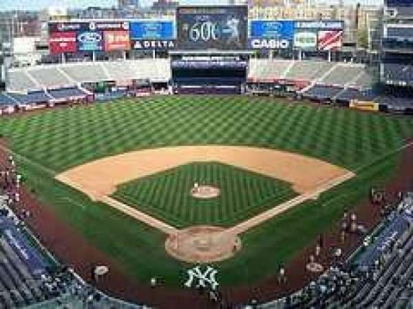 Yankee Stadium, section: Upper Deck
