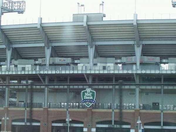 M&T Bank Stadium, section: Gate B