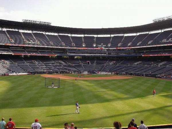 Turner Field, section: Center Field