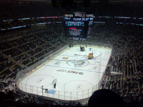 PPG Paints Arena, section: 209, row: J, seat: 14
