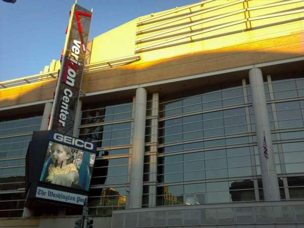 Capital One Arena, section: outside