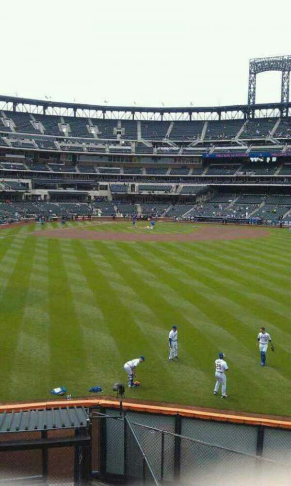 Citi Field, section: Centerfield