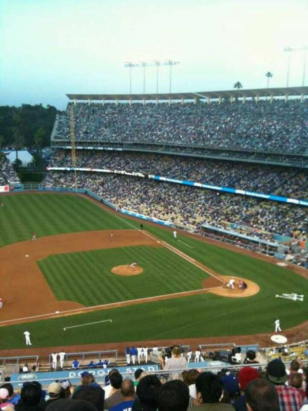 Dodger Stadium, section: Reserve, row: O, seat: 18