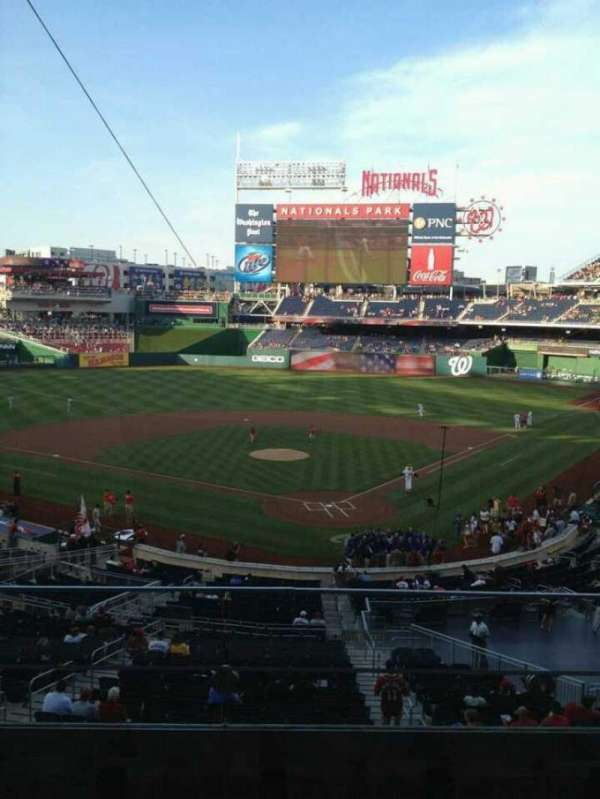 Nationals Park, section: 212, row: C, seat: 3