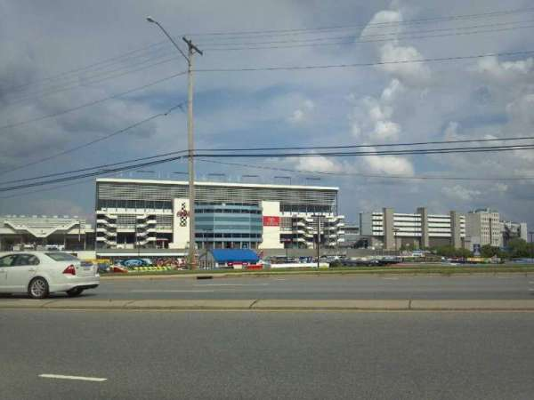 Charlotte Motor Speedway, section: entrance