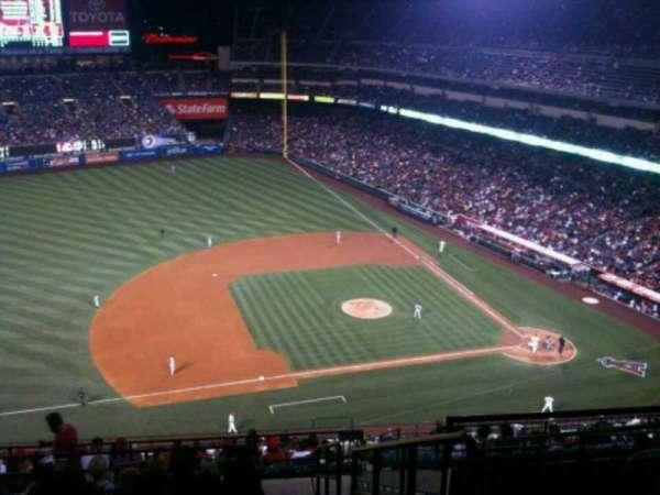 Angel Stadium, section: V512, row: K, seat: 25