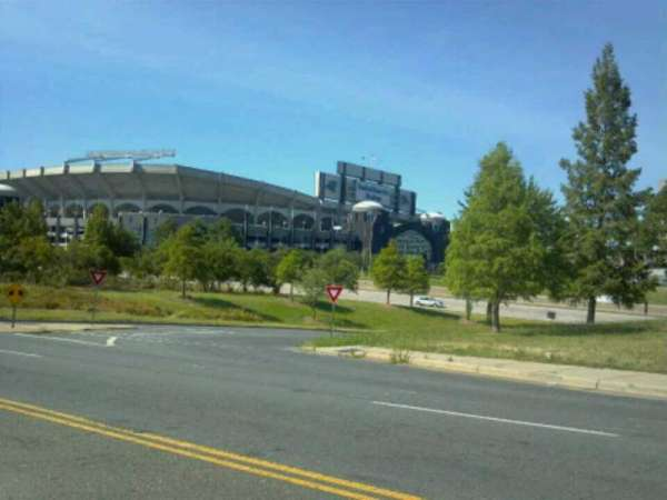 Bank of America Stadium, section: Street View