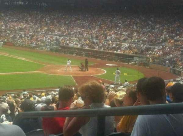 PNC Park, section: 124, row: T, seat: 3