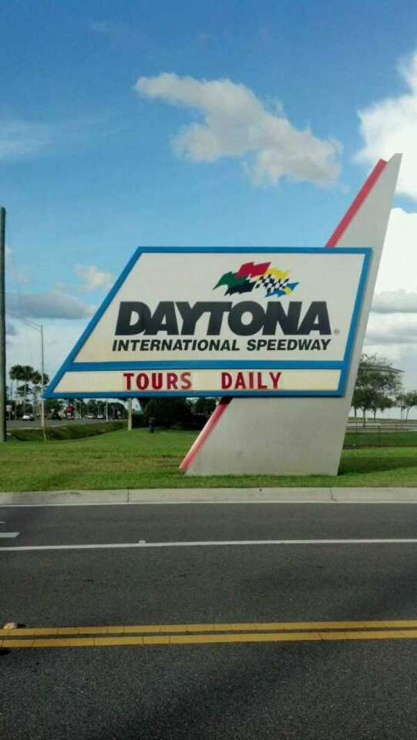 Daytona International Speedway, section: Entrance