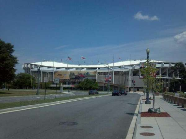 RFK Stadium, section: Outside