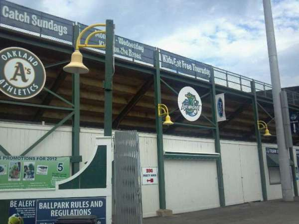 Centennial Field, section: Entrance
