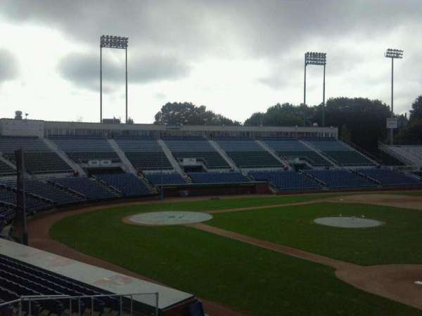 Hadlock Field, section: Staff Steps