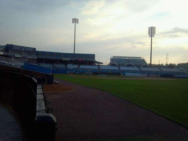 Frawley Stadium, section: Right Field Fence