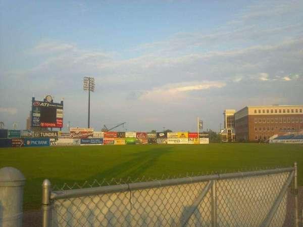 Frawley Stadium, section: Left Field Fence