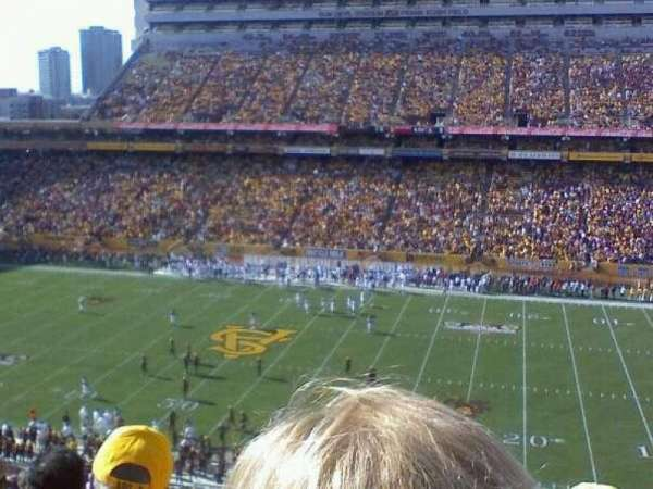Sun Devil Stadium, section: 130