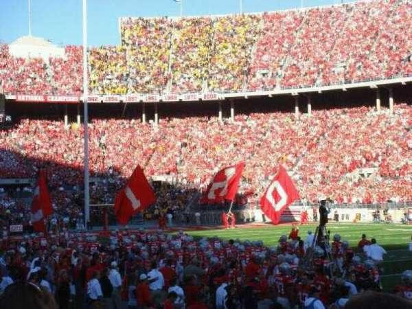 Ohio Stadium, section: 18AA, row: 3, seat: 13