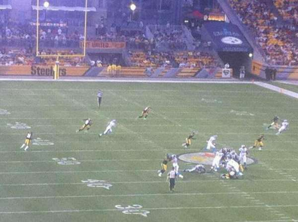 Heinz Field, section: NC-005
