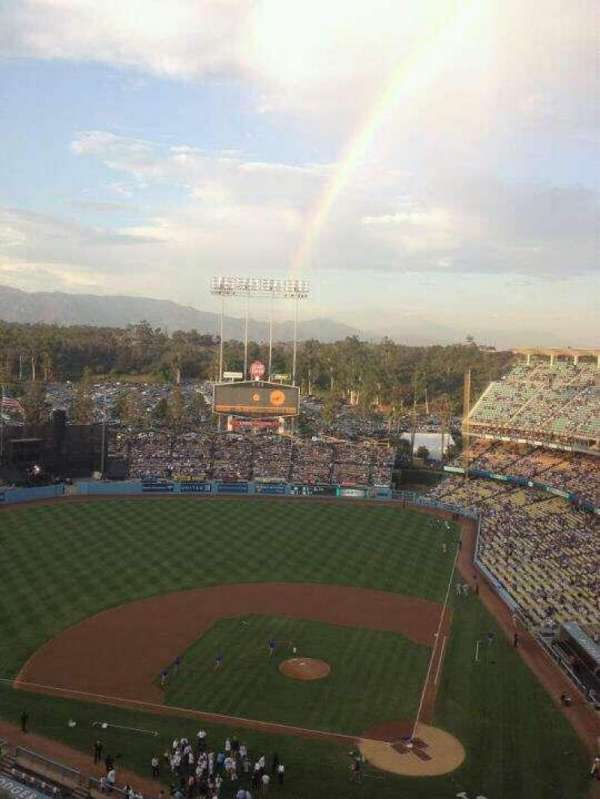 Dodger Stadium, section: 9TD, row: N, seat: 20