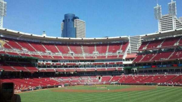 Great American Ball Park, section: 145