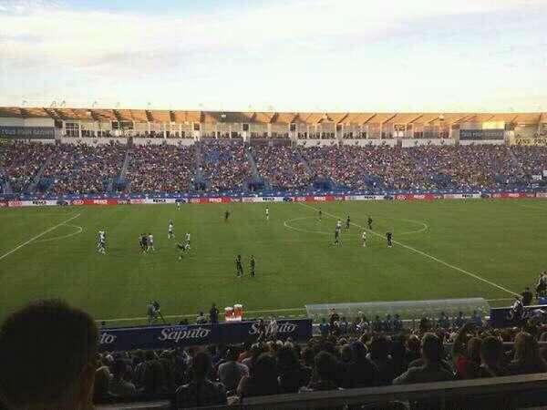 Saputo Stadium, section: 125, row: K, seat: 12