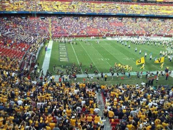 FedEx Field, section: 305, row: 1, seat: 3