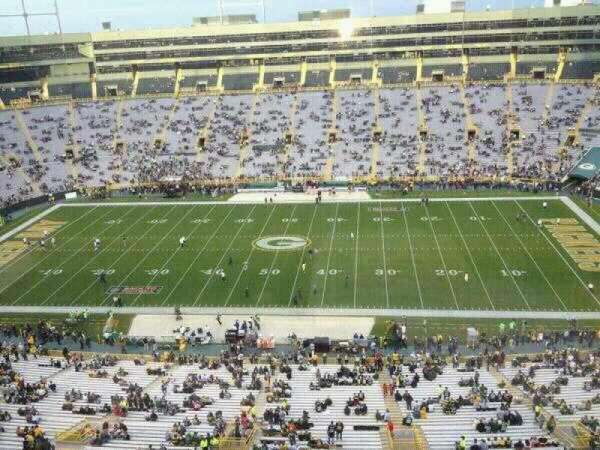 Lambeau Field, section: Suite 5028
