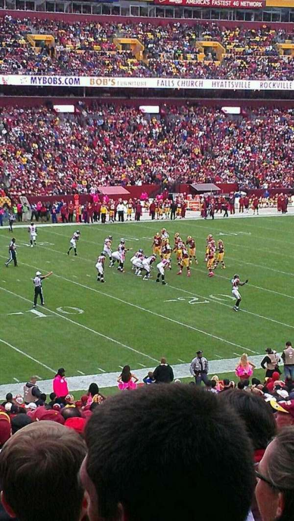 FedEx Field, section: 226, row: 5, seat: 14
