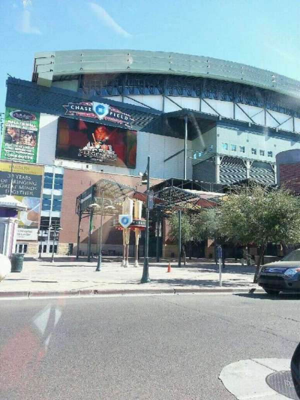 Chase Field, section: Outside