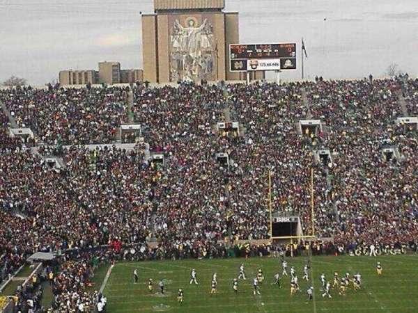 Notre Dame Stadium, section: 120