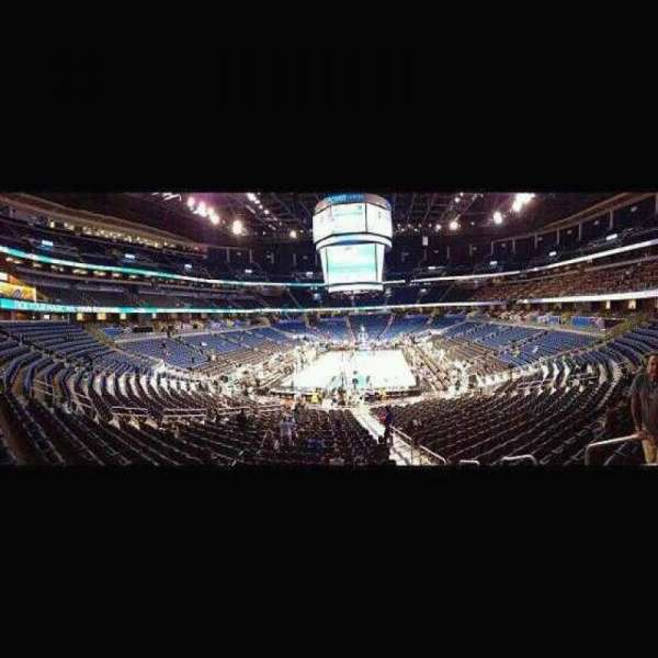 Amway Center, section: 101, row: 23, seat: 3