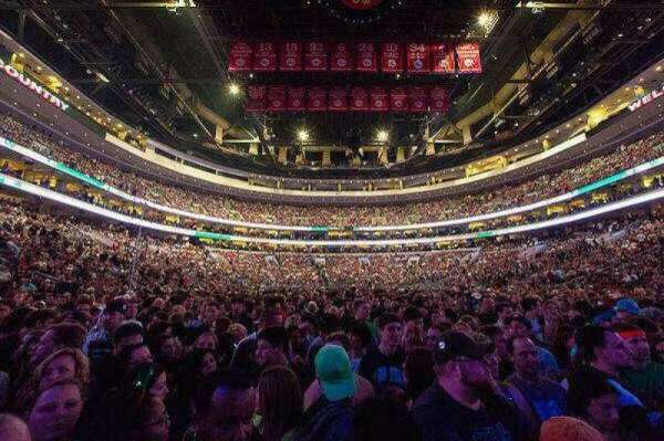 Wells Fargo Center, section: Stage