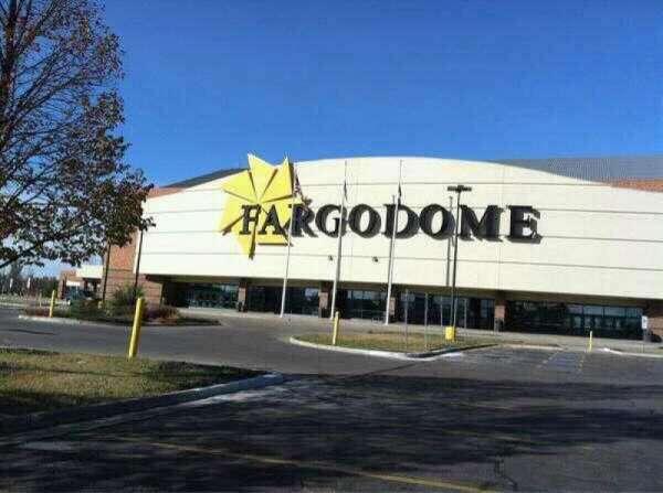Fargodome, section: Outside