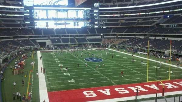 AT&T Stadium, section: 125, row: 8, seat: 1
