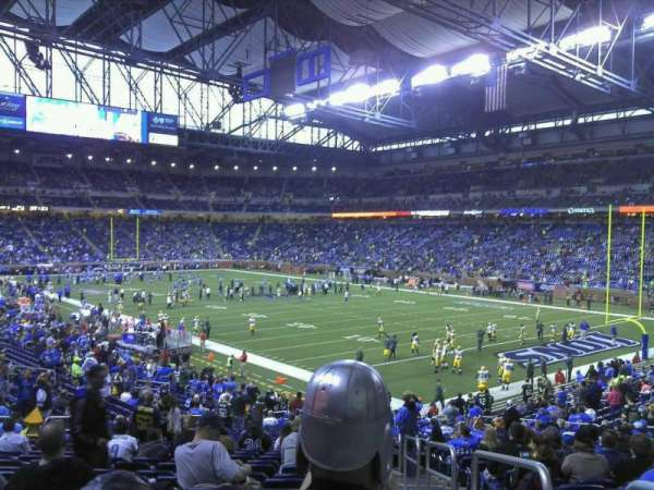 Ford Field, section: 112, row: 31, seat: 23