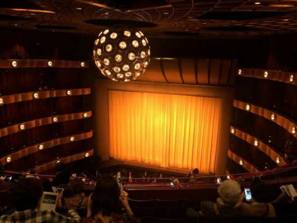 David H. Koch Theater, section: 4th Ring, row: H, seat: 10