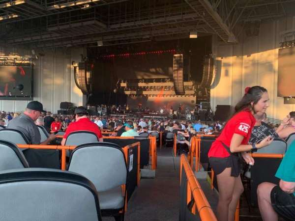 PNC Music Pavilion, section: 5, row: J, seat: 25