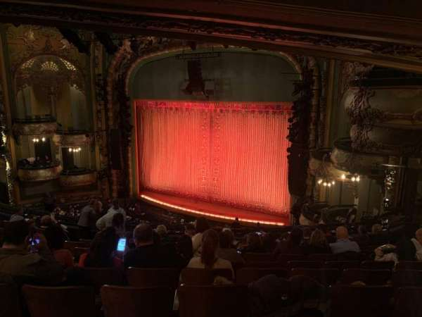 New Amsterdam Theatre, section: Mezzanine R, row: KK, seat: 26