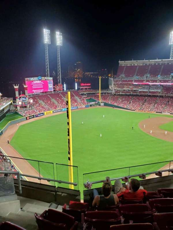Great American Ball Park, section: 510, row: E, seat: 19