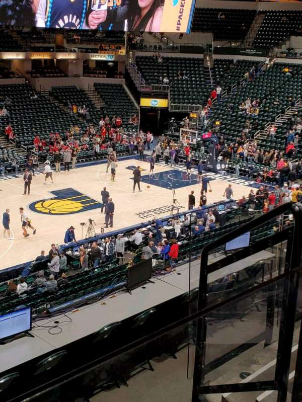 Bankers Life Fieldhouse, section: 106, row: 6, seat: 13