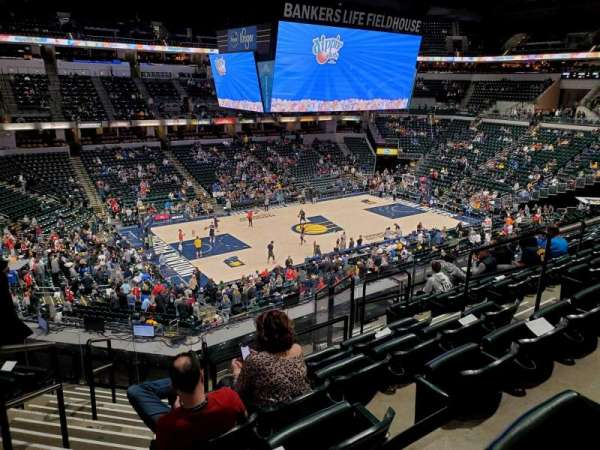 Bankers Life Fieldhouse, section: 106, row: 10, seat: 16