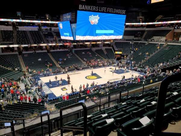 Bankers Life Fieldhouse, section: 106, row: 9, seat: 9