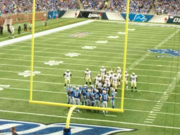 Ford Field, section: 138, row: 35, seat: 18