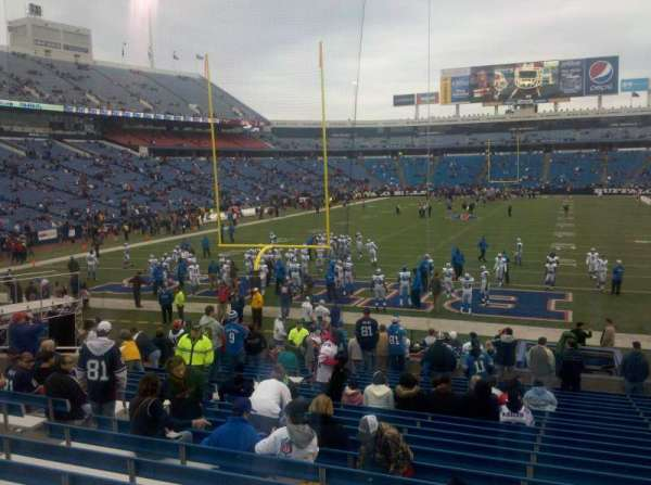 Buffalo Bills Stadium, section: 121, row: 24, seat: 13