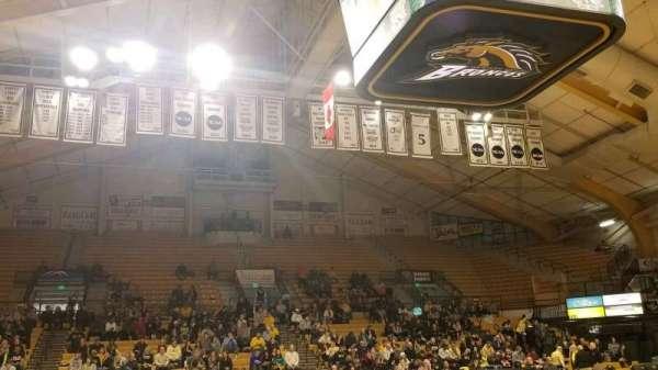 University Arena (Western Michigan University), section: C, row: 1, seat: 14