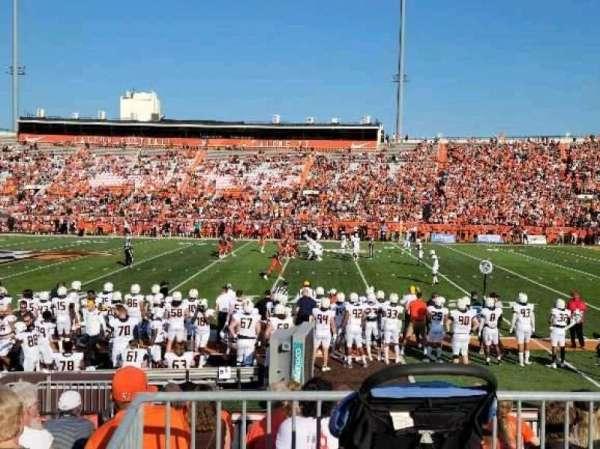 Doyt Perry Stadium, section: 11U, row: 13, seat: 1