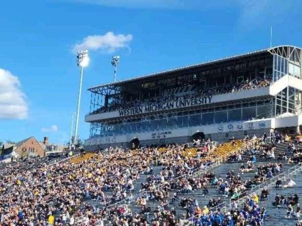 Waldo Stadium, section: K, row: 5, seat: 1