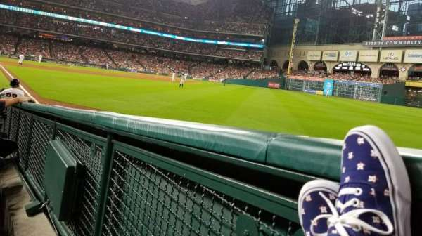 Minute Maid Park, section: 134, row: 9, seat: 1and2