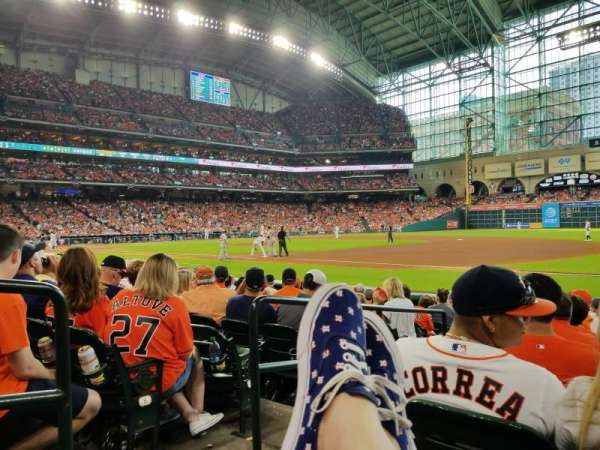 Minute Maid Park, section: 128, row: 10, seat: 2