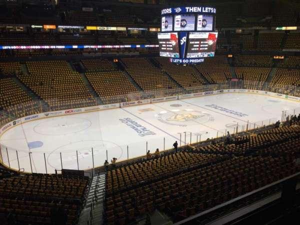 Bridgestone Arena, section: 213, row: E, seat: 15