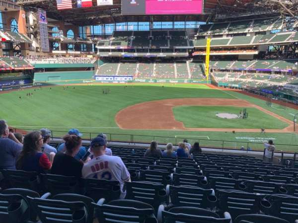 Globe Life Field, section: 108, row: 13, seat: 16